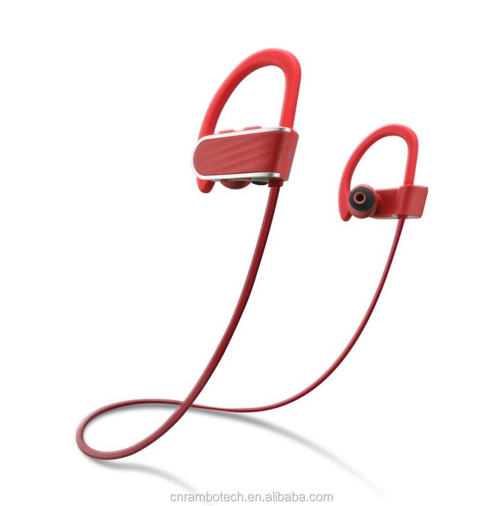 Super light popular design CSR bluetooth earbud headphones with good microphone for handsfree
