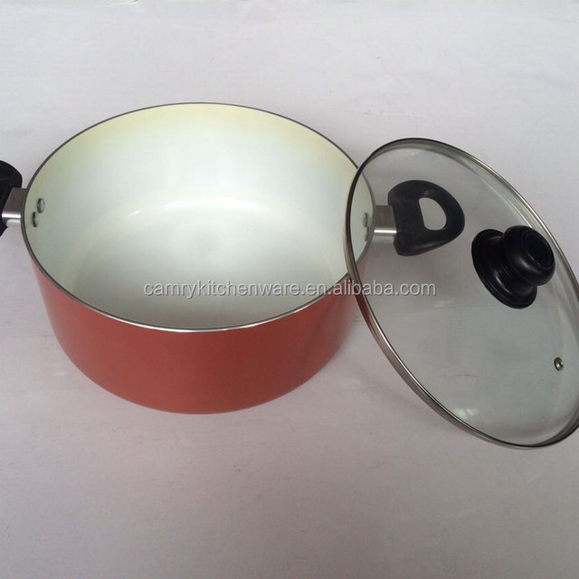 Aluminum Factory Sell Color Changing Casserole