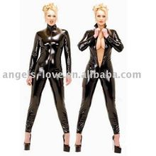 Fashion women sexy leather catsuit A5024