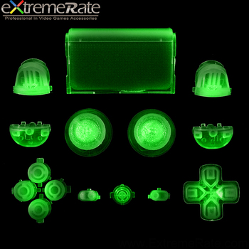Glow in the dark replacement buttons for PS4 playstation 4 controller buttons