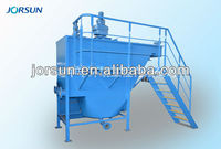 Lamella clarifier for precipitation