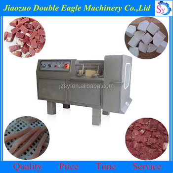 Jiaozuo double eagle sale commercial full automatic frozen beef block dicer machine with lower price