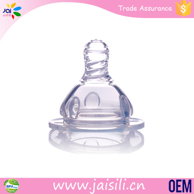 Wide Neck Baby Nipple Mold Large Pacifier Big Nipples For Milk Bottles
