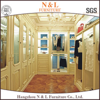 classic wood wardrobe from Hangzhou factory modern kitchen designs steel cabinet godrej almirah designs with price