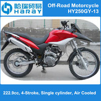 250cc motorcycle Pit Bike Dirt Bike or Off Road Motorcycle HY250GY-13