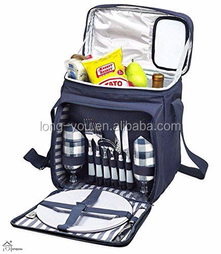 Picnic Basket Jakarta : Insulated picnic basket lunch tote bag cooler backpack