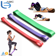 3 PCS 61cm Pull Up Bands Natural Latex Strength Resistance Bands Loop Fitness Crossfit Power Training Muscle Tension Exercise