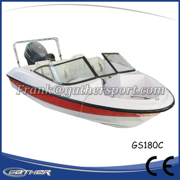 Gather Chinese manufacturer best given price Fiberglass Small Boat