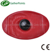 Red Water Proof Medical Oval Shape 1750ml Rubber Ice Bag