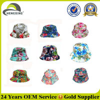 Beautiful Flower Bucket Hat Wholesale , Tie Dyed Bucket Hat, Bucket Hat