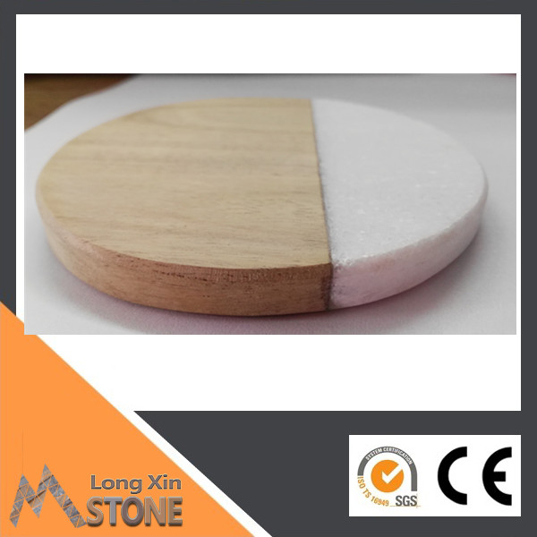 <strong>Natural</strong> Marble wine coaster