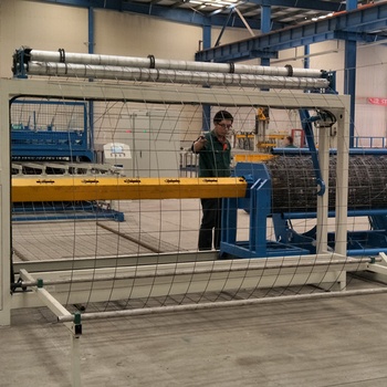 Roll Welded Wire Mesh Machine For Mesh Roller