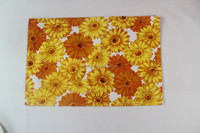 Most popular sunflower cotton placemat Christmas gift placemat