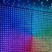 2015 hot led video cloth/led curtain backdrop fabric wedding light curtain led star cloth,led star curtain,led backdrop/ led dj