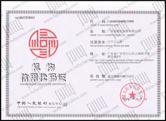 Chinese Premium fully hair fiber with your private label OEM