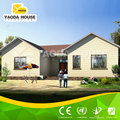 Modern design of light steel frames villa with prefab small villa design in factory