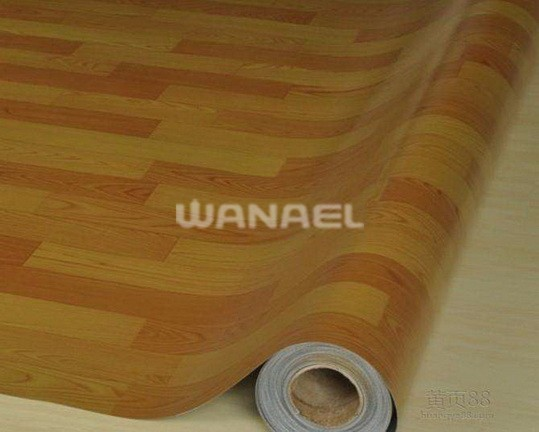 New Design High Quality Cheap Price Woven Vinyl Tile Flooring 2mm thickness Roll