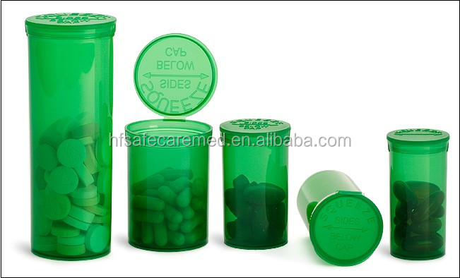 Medicine packing factory Supply PP pill bottle