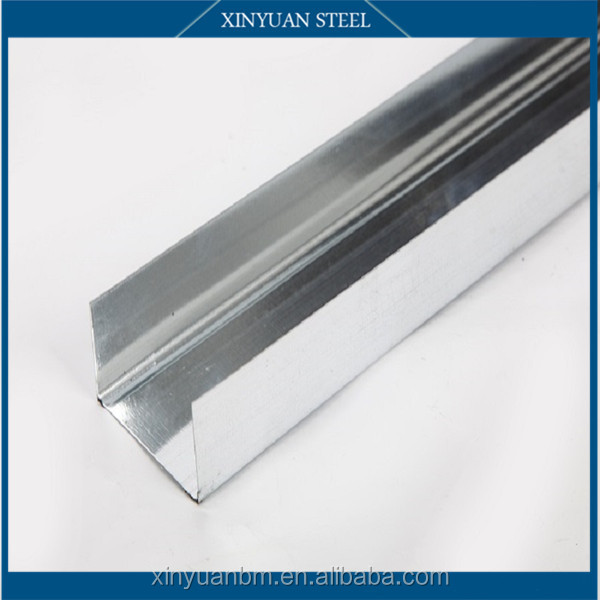 steel frames profiles for plasterboard Partition/Gypsum Board Wall partition/metal stud and track corner bead