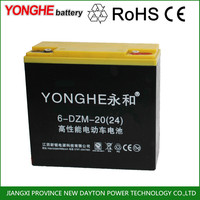 dry battery rechargeable 12v battery powered electric vespa