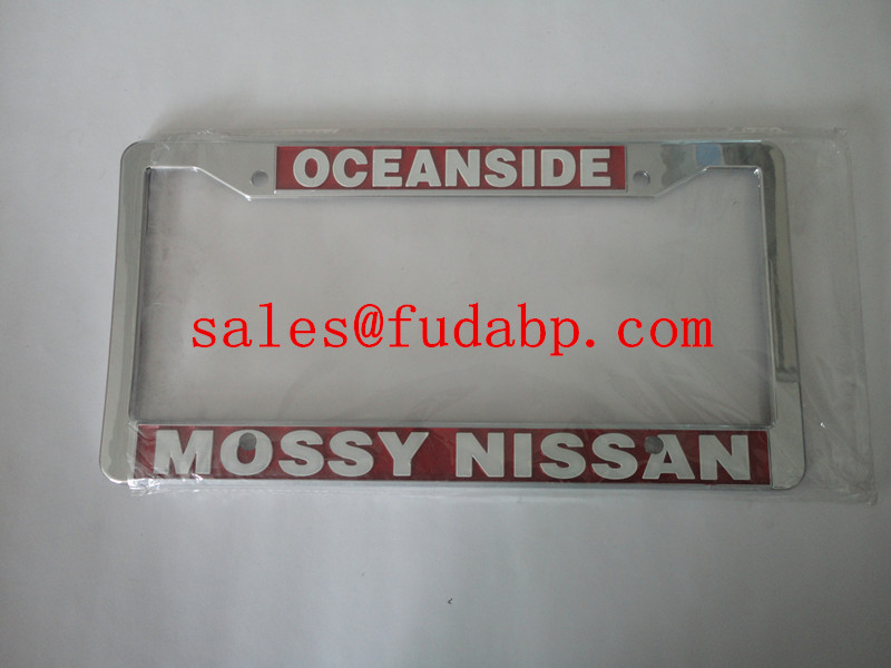 euro License Plate Frames,car license plate cover holder,plastic chrome plate frames