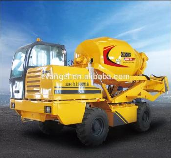 concrete mixer truck SLM4 self loading concrete mixer