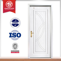 factory manufacturer plain solid wood doors Made in China