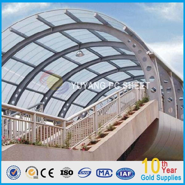 OEM greenhouse roofing material, greenhouse polycarbonate roofing sheet, polycarbonate greenhouse solid sheet