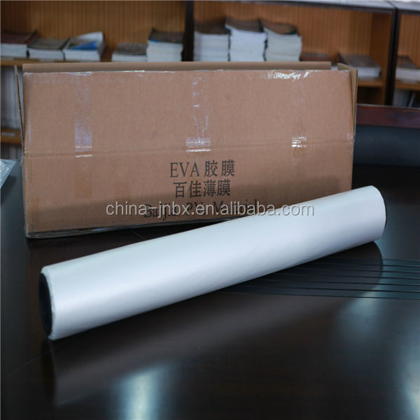 China supplier roll solar cell eva packing sheet