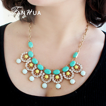 Imitation Fashionable Jewelry spring wholsesale cheap colorful magnetic necklace