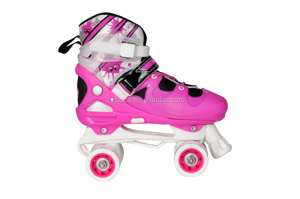Safety quality children sport skating shoes durable quad roller skate professional for kid with CE for sale