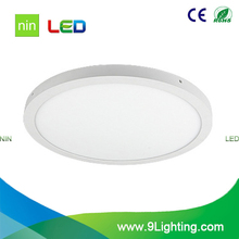 led surface panel 36w round dia 400mm 500mm 600mm led ceiling panel lamp