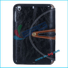 BRG-New arrival combo case for Ipad Mini2 Mini II,leather case for ipad mini2