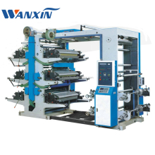 YT Six Color Film Paper non-woven Flexo Printing Machine