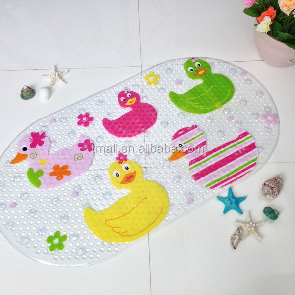 Bathroom accessories,Bath Pad,PVC Suction Cup Shower Pad