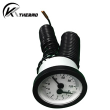 High quality brass capillary steam boiler pressure gauge