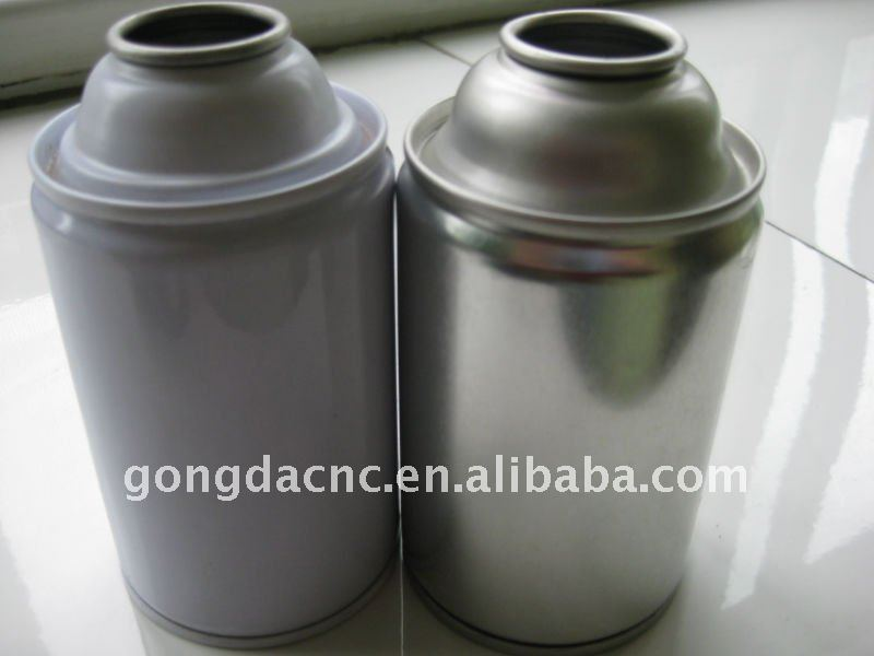 Tinplate aerosol packaging can