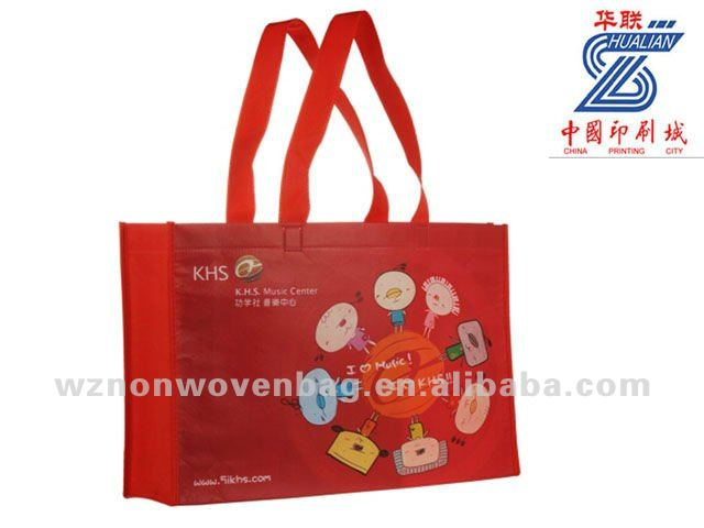 2016 Customized non woven eco friendly gift tote bag(HL-1024)