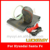 Leather Car steering wheel for Hyundai seriese