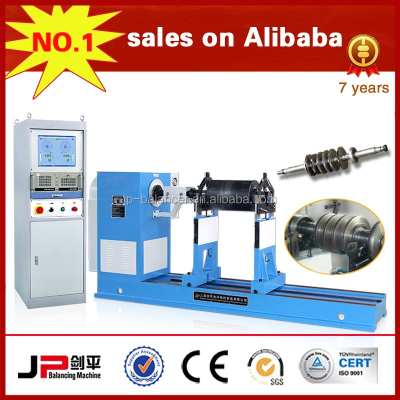 Magnet rotor Universal Joint Drive Balancing Machine producer