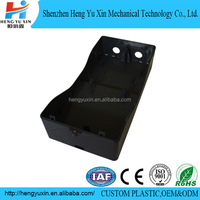 professional injection molding abs black soft box casing