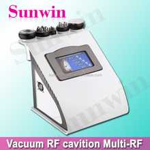 Bipolar RF+Vacuum+Cavitation+skin tighten beauty machine