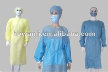 Thumb UP CPE Personal Protective Equipment Impervious lamination Latex Free hygienic standard Gown