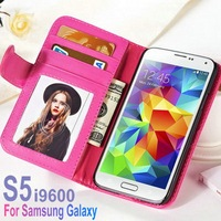 2014 Simple Design Mobile Phone PU Leather Case For S5 With Low Price