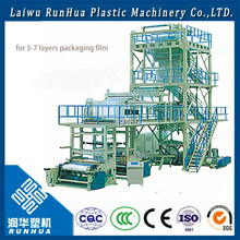 Three-layer Co-Extrusion A+B+C POF film blowing machine