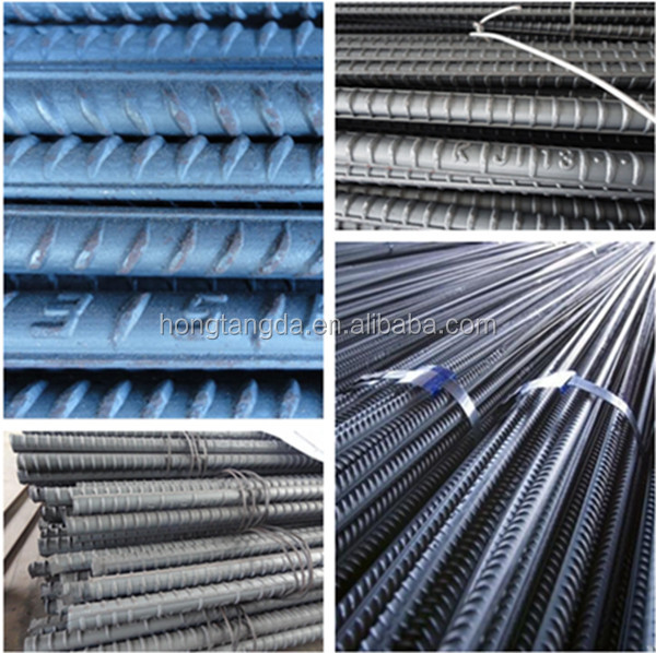 Reinforcement of concrete constructions Application 12 m Length Steel rebar