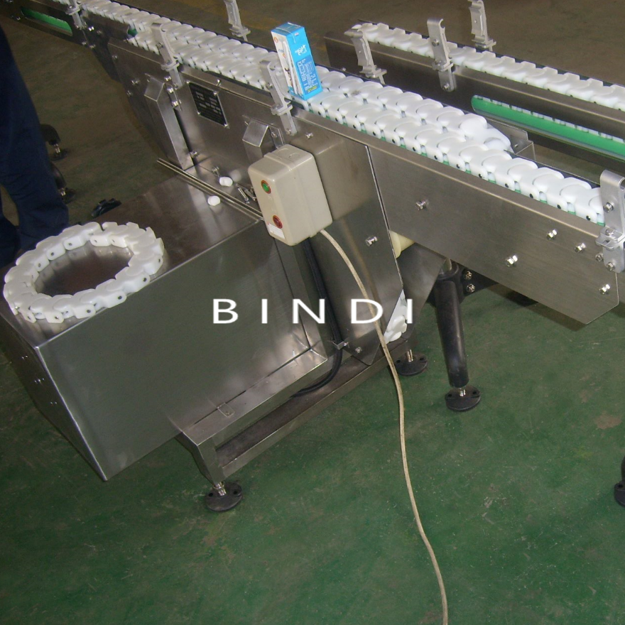 durable plastic table flat top chain conveyor