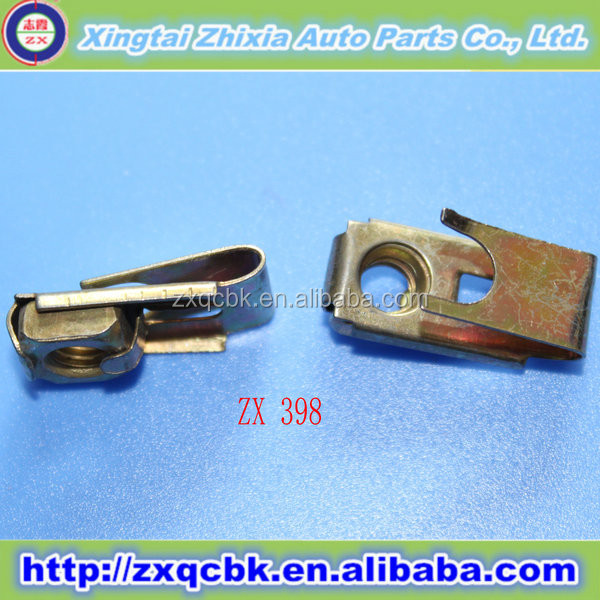 Best price high quality auto metal clips fastener manufacturer,fender screw clips fastener made in China