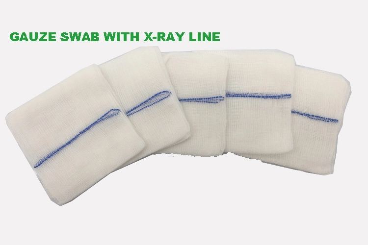 Medical sterile gauze swabs from china