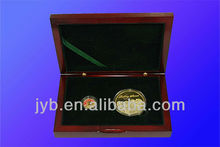 Custom different size souvenir coin gift box set